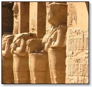 The Egyptian Religion Was Characterized by Massive Temples